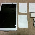 Mediapad T2 10.0 Proが到着。開封しました。