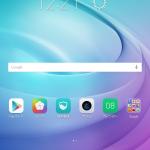 Mediapad T2 10.0 Proのプリインストールアプリ