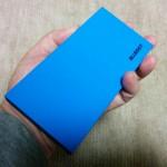 BLUEDOTのモバイルバッテリー「BMB-10」開封&外観チェック