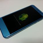 Y!mobileの507SHをAndroid7.0へバージョンアップする