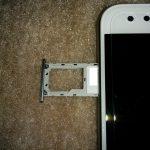 ZenFone4にSIMをセットし、設定を行う